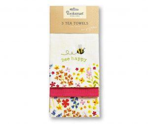 Комплект 3 кухненски кърпи Bee Happy 45x65 см
