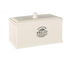 Кутия за хляб Vintage Home Cream
