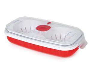 Кутия за готвене на яйца Airtight Red 750 мл