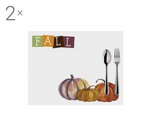 Комплект 2 подложки за хранене Halloween Fall 33x45 см