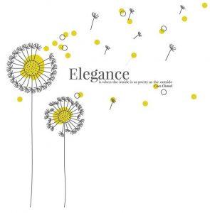 Стикер Yellow Dandelion