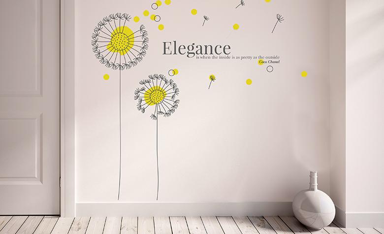 Декоративни стикери: как да ги избереш и монтираш на стената