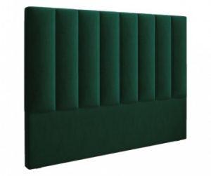Табла за легло Exupery Velvet Bottle Green 120x180 cm