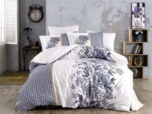 Спално бельо King Poplin Arianna Blue