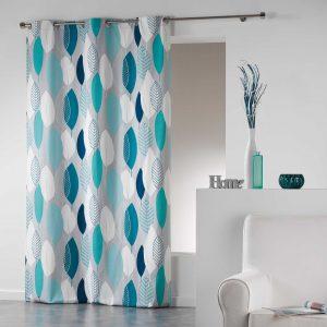 Завеса Leafy Blue 140x240 см