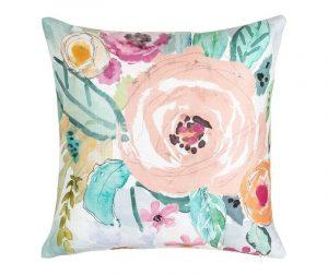 Декоративна възглавница Fowers Multicolor 45x45 см