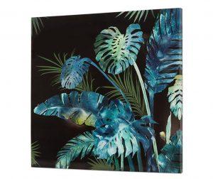 Картина Tropical Leaves 80x80 см